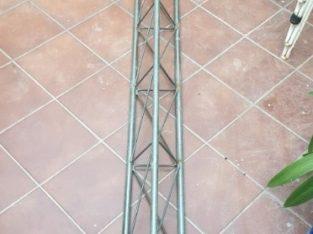 Torre de Antena TV de 3 puntos con base triángulo