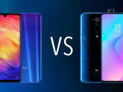 Comparativa Xiaomi Redmi NoteE 7 vs Xiaomi MI 9T