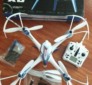 Drone X6 Juguete + Camara HD + MicroSD