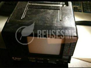 Mini TV Antigua  7″ pulgadas blanco y negro
